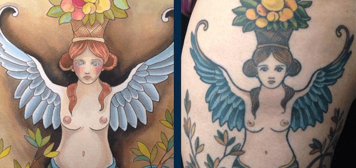 tuenight tattoo cheryl dumesnil amy justen