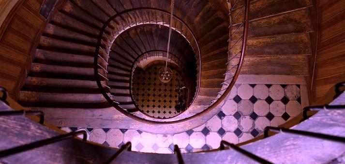 tuenight fling sex stairwell
